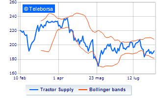 Performance negativa per Tractor Supply